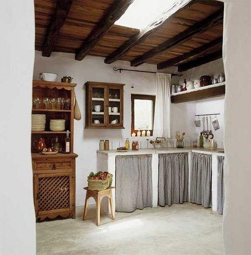 Interiores de casas rsticas 40 fotos de diseo y decoracin Brico