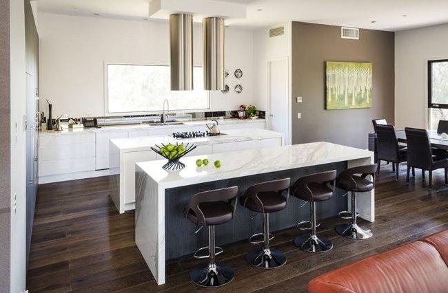 los utensilios de cocina y cubiertos tambin tienen un toque moderno tanto en diseo como en colores - Modelos De Cocinas