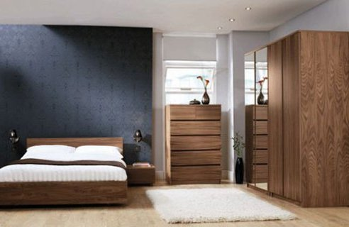 modern bedroom with plants 582x416 - Colores Habitacion Matrimonio