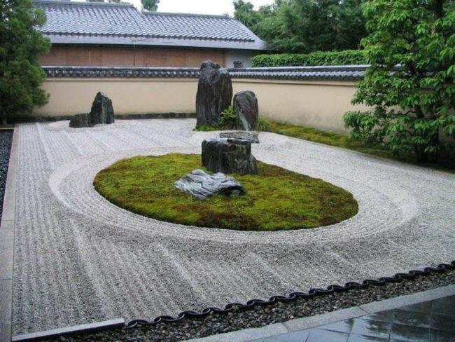 C mo hacer un jard n zen paso a paso brico y deco - Arena jardin zen ...