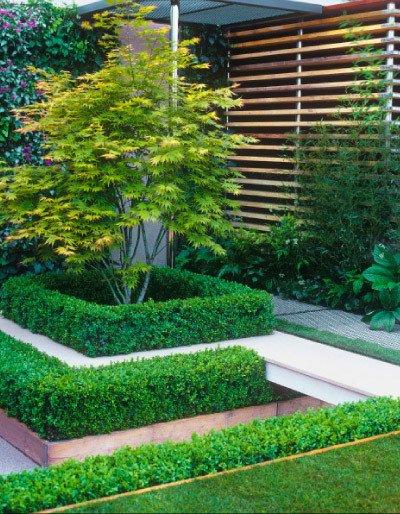 Jardines peque os y bonitos 60 fotos e ideas modernas de for Modelos de jardines en espacios pequenos