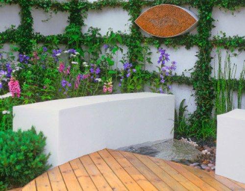 Jardines peque os y bonitos 60 fotos e ideas modernas de for Jardines muy pequenos modernos