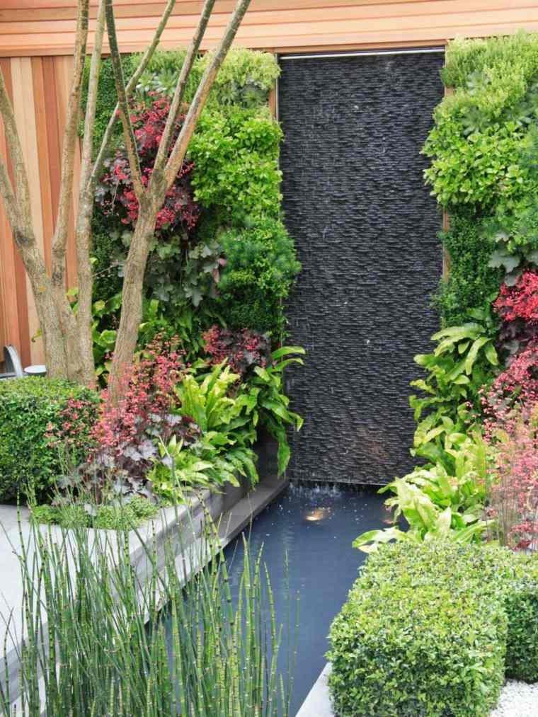 Jardines verticales para exteriores e interiores 50 fotos - Jardines verticales plantas ...