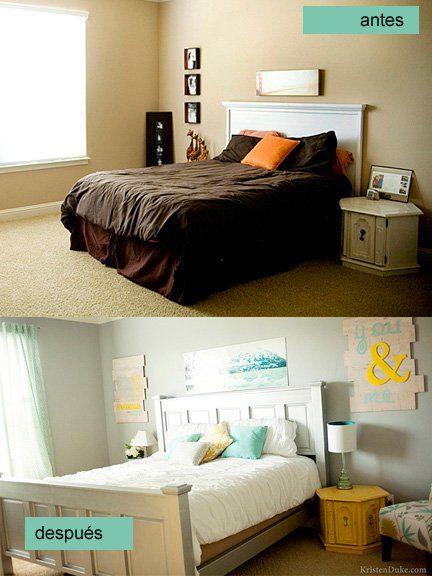 aqu tienes ms ideas para el dormitorio decorar mi cuarto con poco dinero