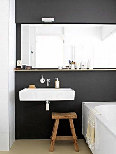 cuando el bao es pequeo un espejo puede duplicar la sensacin de espacio los espejos pueden ser utilizados logrando grandes efectos