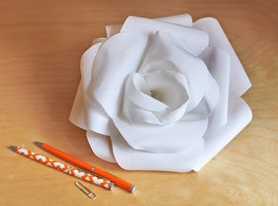 Como Hacer Rosas De Papel O Tela 4 Ideas Faciles Y Bonitas Brico Y