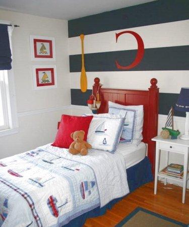 Dormitorios infantiles 60 fotos e ideas modernas de for Decoracion habitacion bebe marinero