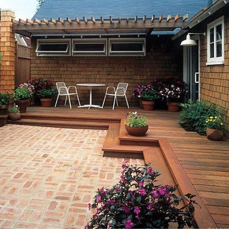 Dise o de jardines y patios 160 fotos e ideas modernas y for Disenos de patios con piedras