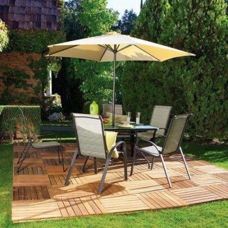 Dise o de jardines y patios 160 im genes e ideas modernas for Jardin al aire libre de madera deco