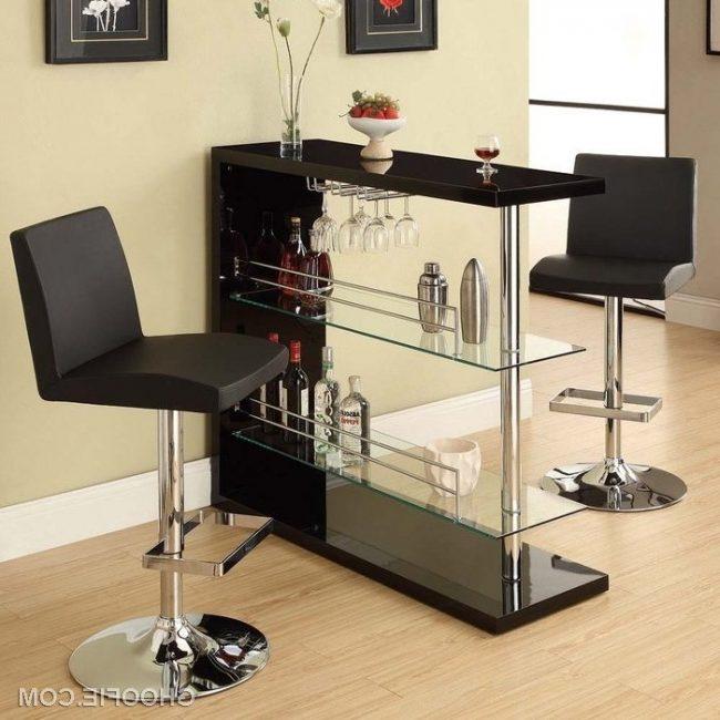 mini bar en madera o metal 30 ideas para el hogar brico y deco. Black Bedroom Furniture Sets. Home Design Ideas