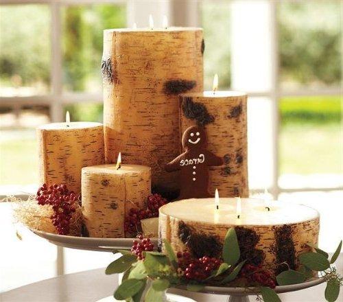 Centros de mesa para navidad 2018 2019 30 fotos e ideas for Manualidades para casa rustica