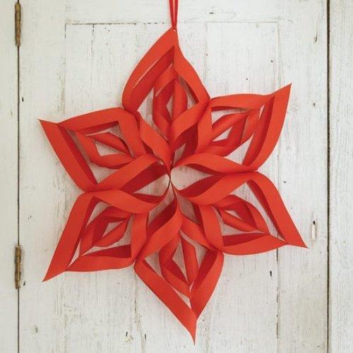 15 manualidades navide as f ciles de papel madera lana o - Manualidades navidenas paso a paso ...