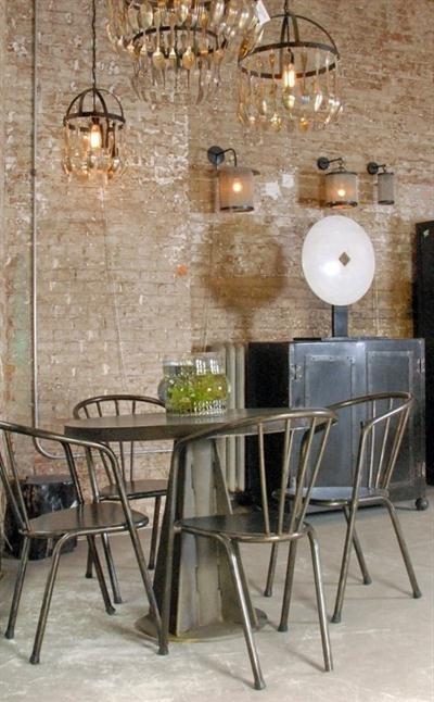 Decoraci n industrial 40 fotos de interiores y decoraci n - Habitacion decoracion industrial ...