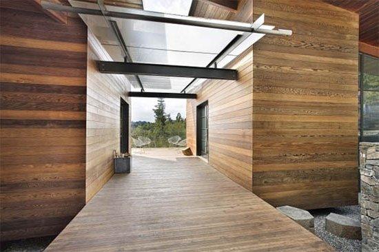 Interiores de casas r sticas 40 fotos de dise o y for Casas modernas con puertas antiguas