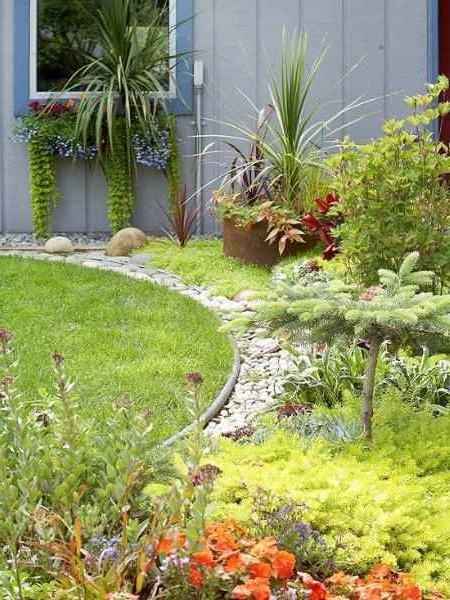 Decoraci n de jardines y patios modernos 140 fotos para - Como disenar un jardin grande ...