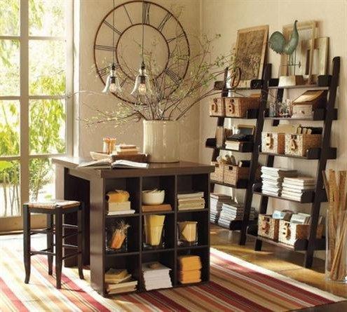 Paredes decoradas 90 fotos e ideas baratas y creativas for Relojes decorativos para salon