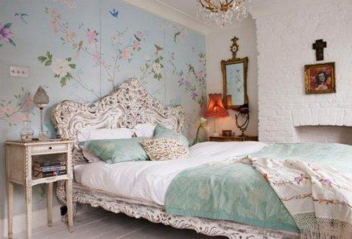 40 habitaciones rom nticas e ideas de decoraci n - Dormitorios estilo romantico ...