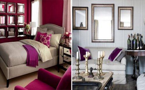 Decoraci n de paredes con espejos 35 fotos de ideas for Donde venden espejos grandes