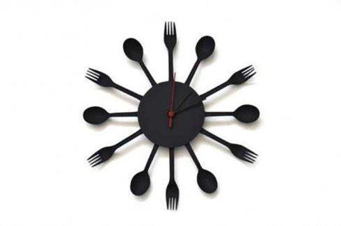 Manualidades para decorar la casa 30 ideas bonitas y - Reloj cocina original ...