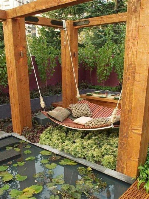 Decoraci n de jardines y patios modernos 140 fotos para for Como hacer adornos para jardines exteriores