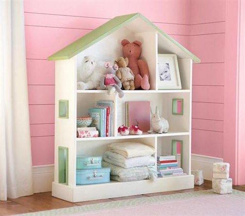 Cuartos de ni as modernos 60 fotos e ideas de decoraci n - Estanterias para habitacion nina ...