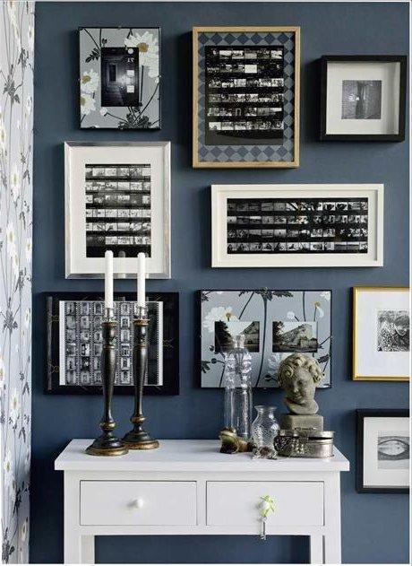 Ideas divertidas para decorar paredes con nuestras fotos - Ideas para decorar paredes con fotos ...