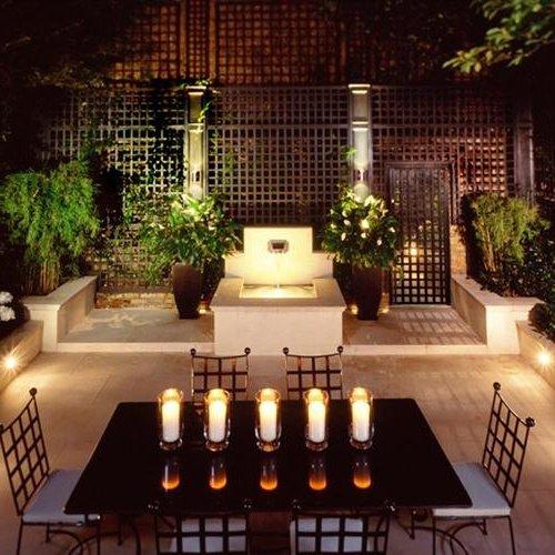 Iluminacion para patios y jardines dise os for Iluminacion para porches