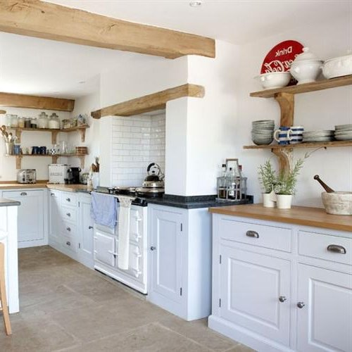 Muebles de cocina estilo retro top cocinas vintage azul for Cocinas country
