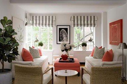 Salones blancos 40 fotos e ideas de decoraci n para for Grado superior decoracion de interiores