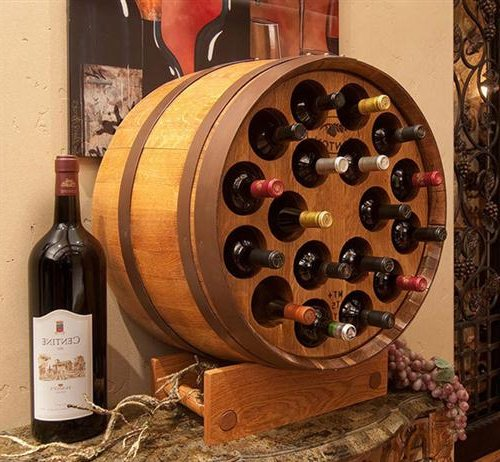 Wine barrel dog bed i know a certain doggy who would for Barriles de madera bar