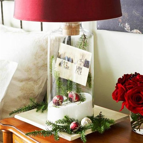 Arreglos navide os para la mesa del comedor casa dise o - Arreglos navidenos para la casa ...