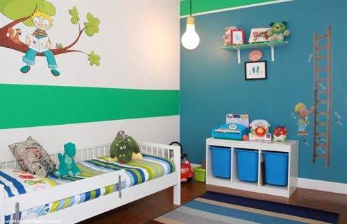 Colores para los dormitorios de nios varones share the - Colores para dormitorios ...