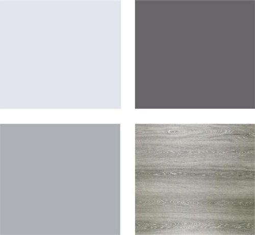 Colores para habitaciones 2018 modernos 65 fotos e ideas for Habitaciones color gris claro