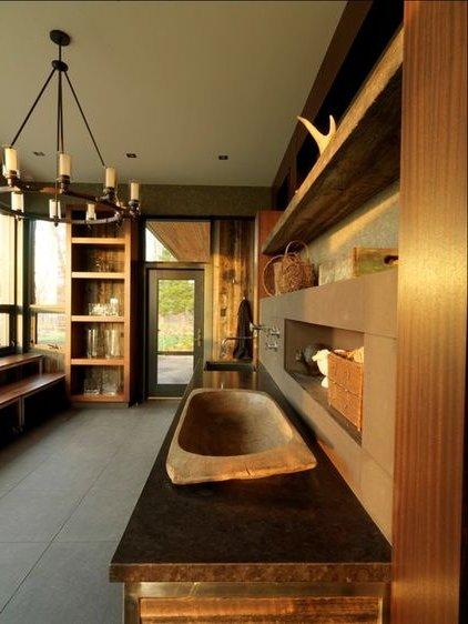 decoracion de interiores rustica moderna:de esa forma podemos ver como las vigas de madera