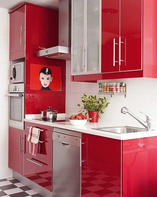 Cocinas rojas 40 fotos e ideas de tonalidades y combinaciones