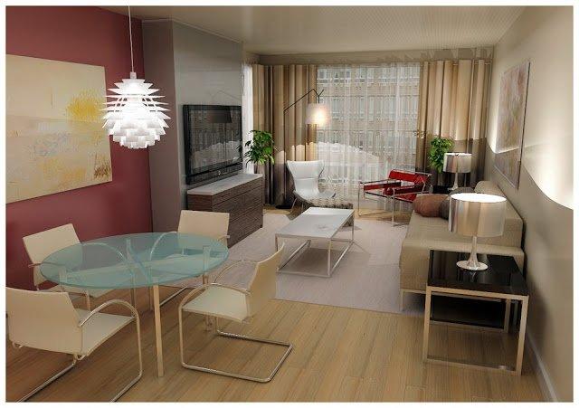 Salones peque os 30 fotos e ideas para una decoraci n moderna brico y deco - El mueble salones pequenos ...