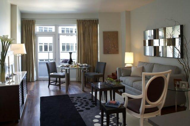 Decorar salones muy pequeos elegant decorar salones muy - Cortinas para salones pequenos ...