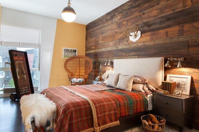 Dormitorios r sticos 20 fotos y consejos de decoraci n for Deco de habitaciones matrimoniales