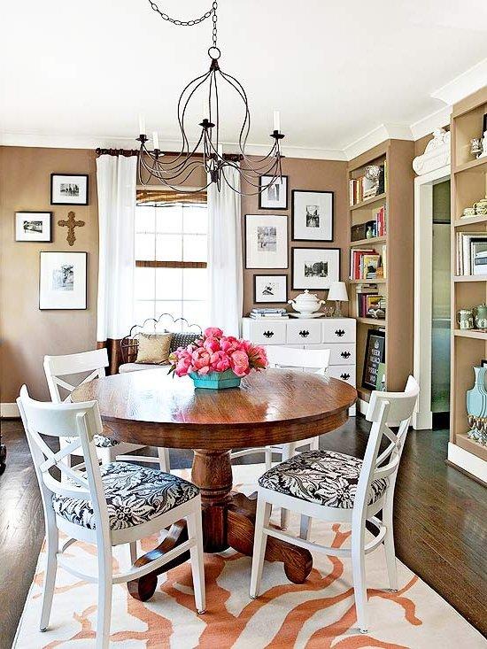 70 comedores vintage modernos e ideas de decoraci n for Cuadros modernos para decorar cocinas