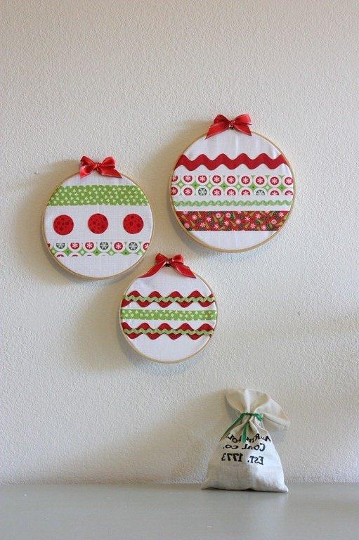 Manualidades Decoracion Navidad ~ 15 Manualidades navide?as f?ciles de papel, madera, lana o tela