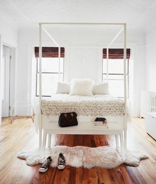 Colores para habitaciones 2017 modernos 65 fotos e ideas bonitas - Habitaciones blancas y negras ...