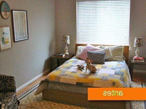 C mo hacer que un dormitorio parezca m s grande - Como pintar un dormitorio para que parezca mas grande ...