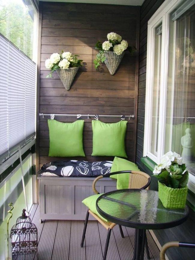 Balcones pequeños y modernos 60 fotos e ideas de decoración   Brico ...