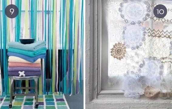 20 modelos de cortinas de tela baratas y sencillas brico - Cortinas para el sol ...