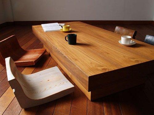 comedor japones estilo Zen