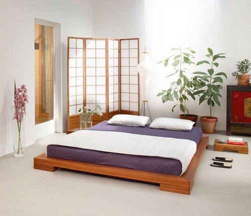 Dormitorios zen 20 fotos e ideas de decoraci n brico y deco for Cama tipo japonesa