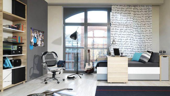 Habitaciones juveniles modernas 50 fotos e ideas de decoraci n brico y deco - Decoracion habitacion juvenil masculina ...