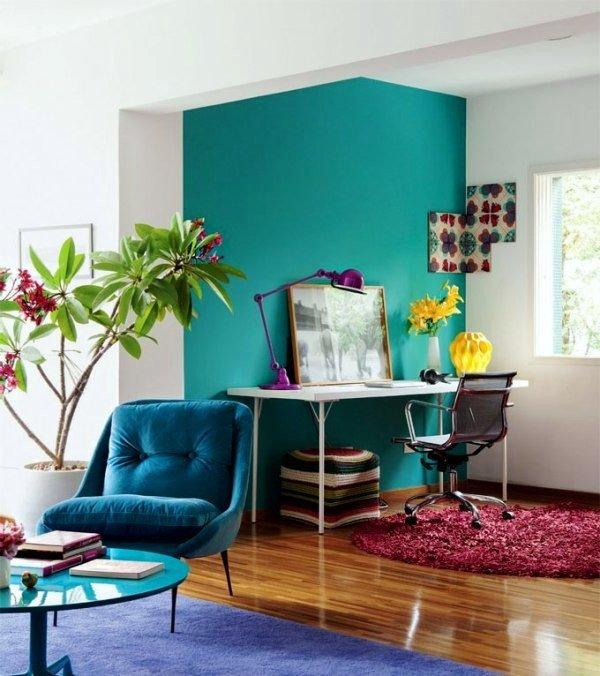 Colores para habitaciones peque as 30 fotos y consejos - Colores recomendados para cocinas ...