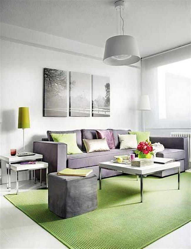 Colores para habitaciones peque as 30 fotos y consejos - Colores claros para pared ...