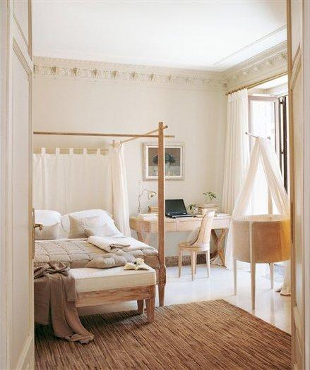 50 habitaciones de matrimonio colores e ideas de decoraci n for Pintura color lino
